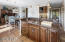 Eat In Kitchen, Large Kitchen Island with Prep Sink & Seating At Island
