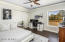 Spacious Bedroom #3 With Perfectly Designed Barn Door Closet