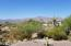 Panoramic views of Superstition Mountain from front patio.