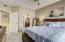 Large master bedroom w/ensuite bath.