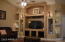 Great room with Entertainment Center