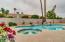 Heated pool w/jacuzzi.