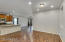 View from front entrance into dining, kitchen & Great Room