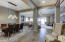 Stunning dining room fixture and Open floorplan to the Great Room