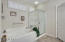 Seaprate tub and shower