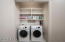 Laundry. Washer and dryer included.