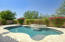 Updated pool and water feature