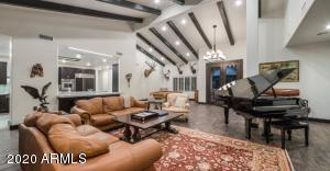 soaring high vaulted ceilings