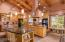 Beamed ceiling, two kitchen islands, granite counters