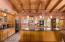 Two kitchen islands, custom lighting, two counters, two sinks