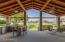 Patio facing the White Tank Mts, outdoor kitchen