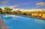 One of two private pools for residents, heated all year round and location for water aerobics and lap swims