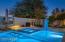 Granite Swim up bar/in pool eating area, spa & 1 foot deep play step under umbrella
