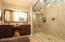 walk in shower with seamless european glass
