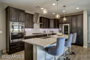 Gourmet kitchen package with all the upgrades.