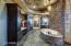 Intricate Frescos on the bathroom ceiling