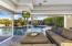 Guest House with Pocket Doors to Pool.
