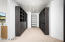 Storage Solutions designed a beautiful master closet to maximize the space for all you clothes, shoes and accessories.