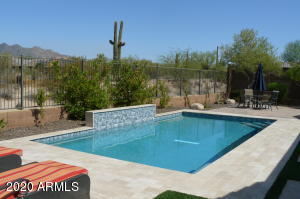 Brand new pool 2020 , privacy with mountain views! Romantic lighting, purple, blue, multi colors.