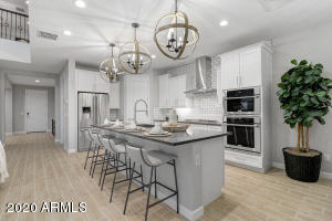 Home is under construction - picture is of similar kitchen in model home