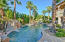 New Ficus Privacy Columns   Extended Flagstone Pool Decking