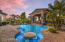 Enjoy your beverage and the dramatic sunset in the pool!
