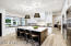 Light bright and open kitchen space
