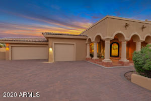Dusk at your new home!
