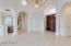 walk in to vaulted ceilings and water views
