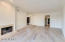 Master suite leads to a large walk in closet and light and bright bathroom
