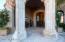Custom Iron Doors & Canterra Stone