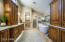 Master Bath with beautiful cabinets and granite.