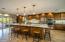 Huge kitchen island