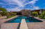 Large pebble surface diving pool