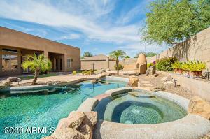 Resort style backyard oasis!