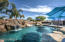 Enjoy Resort Amenities in your own backyard! Check out the Massive Pool with Waterfall and Slide!