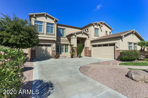 5 bedroom, plus loft and bonus/office space, 4.5 bath home with a pool in a great Gilbert community.