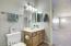 Full bath adjoins loft and bedroom