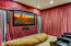 Projection 3D theater room