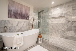 Master Bathroom Tub/shower