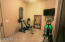 Exercise Room off the master bedroom