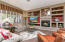 Great Room with built-in Media Niche