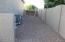 RV Gate on West side yard