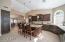 Custom cabinets, granite counters
