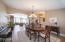 This room could be an office if you prefer not having a formal dining room.