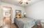 Separate guest quarters bedrrom