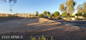 Side view of lot with Walgreens in background