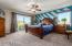 Custom Paint & Amazing Scenic Views at Large Master Bedroom