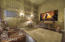 Ensuite Bedroom used as a theater room