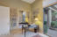 Office/Guest Bdrm. w/ access to Courtyard